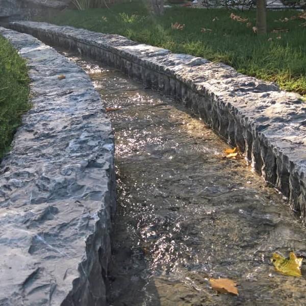 سنگ بسیار زیبا جهت محوطه سازی
