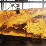 فروش سنگ اسلب مرمر عسلی