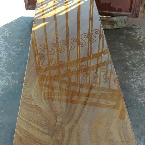 فروش نیمکت سنگی طرح چوب