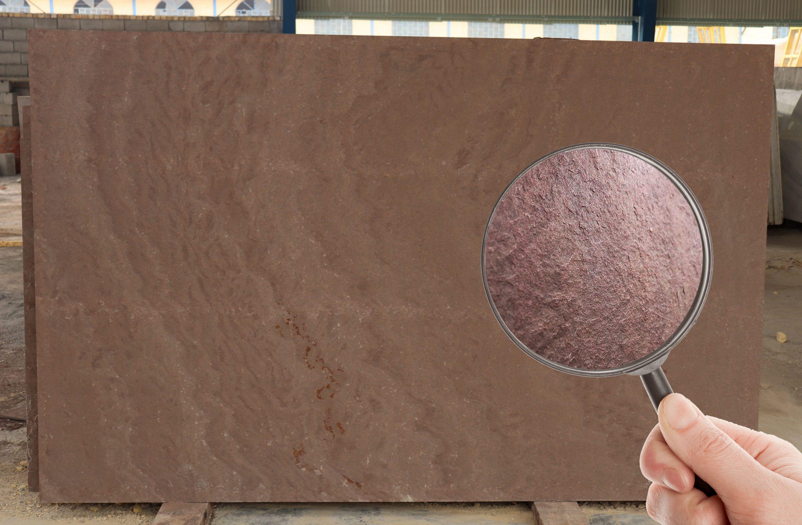 سنگ مالون قواره بزرگ در ابعاد اسلب