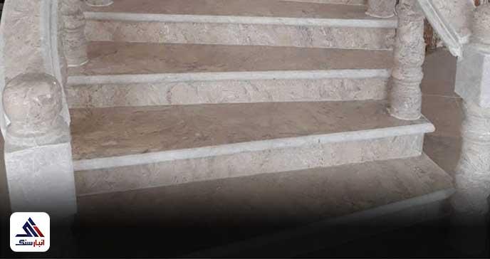 سنگ راه پله مرمریت