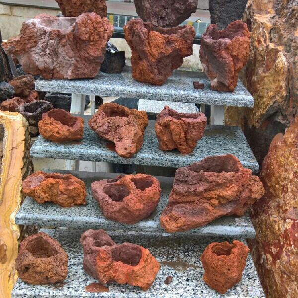 تولید و فروش گلدان سنگی