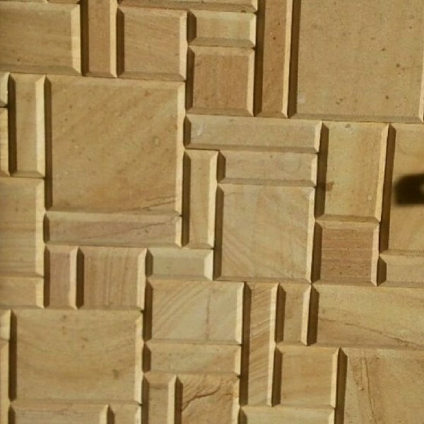 سنگ پازل سوپر براش طرح چوب