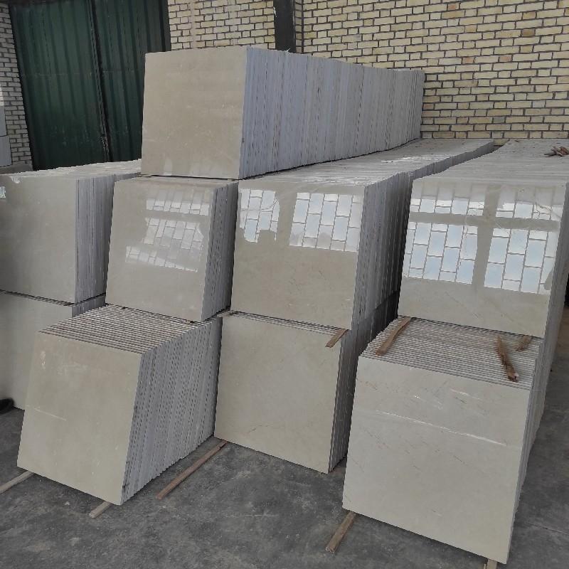 فروش انواع سنگ مرمریت کرم و مشکی دهبید با کیفیت عالی