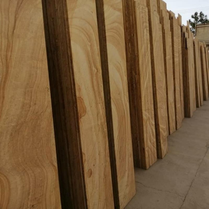 سنگ طرح چوب