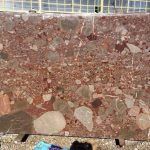 سنگ حایر معدن دار کنگلومرا